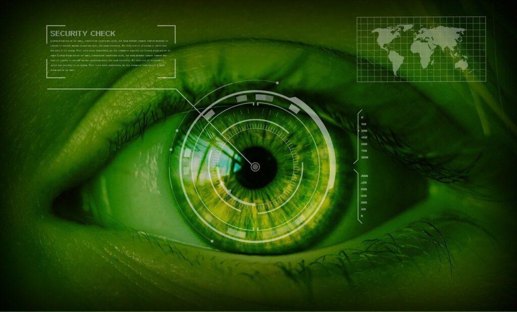 unique Eyes Iris Scan